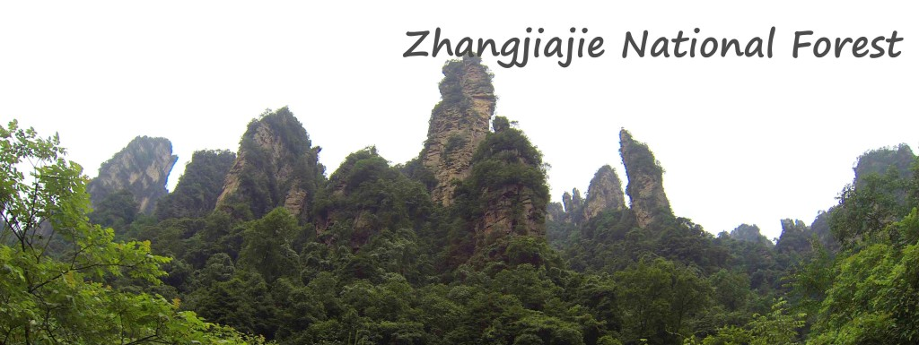 Chine Zhangjiajie Cover